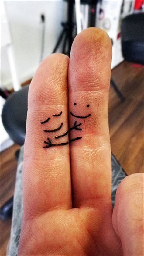 couple finger tattoo finger design ideas tattoos tattoos