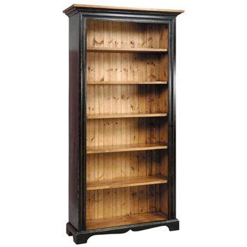 7 foot bookcase made in the country style of