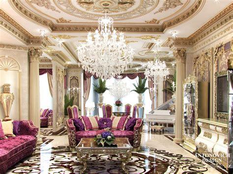 professional living room interior designs  qatar