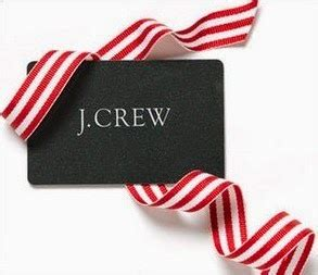 Jcrew Gift Card - thank you giveaway simplyxclassic