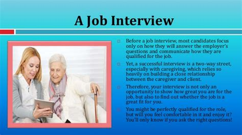 for caregivers questions to ask during your