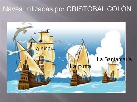 los barcos de cristobal colon nombre de los 3 barcos de cristobal colon imagui