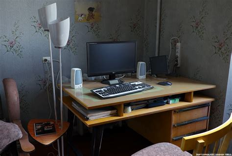 Bedroom Computer Desk | bedroom computer desk by keshon83 on deviantart