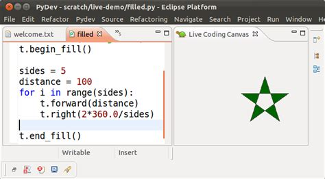 Turtle Import donkirkby live coding in python v2