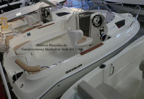 quicksilver 470 cabin ganzpersenning quicksilver activ 505 cabin
