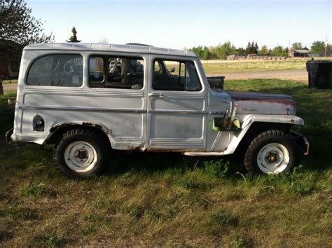 jeep willys wagon 1961 willys jeep panel wagon truck 4 215 4 for sale