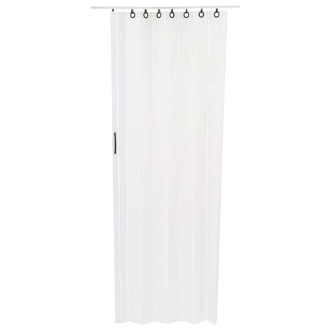 Spectrum Accordion Doors by Spectrum 36 In X 80 In Nuevo Vinyl White Accordion Door