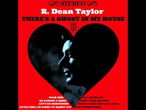 is there a ghost in my house northern soul album there s a ghost in my house r dean taylor youtube