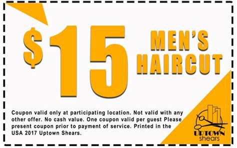 haircut coupons houston coupons uptown shears houston tx 713 572 1200