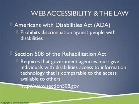 What Is Section 508 Of The Rehabilitation Act by Chapter 1 Web Design