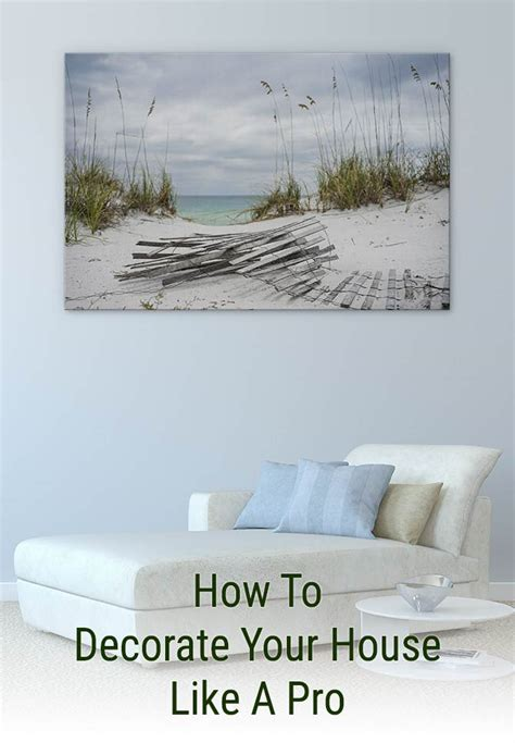 how to decorate your house like a pro wall prints