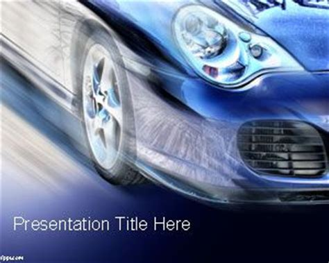car themes for ppt free car powerpoint templates