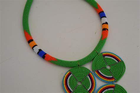 maasai beaded necklace jewelry zulu