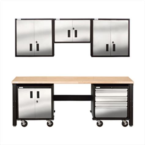 stainless steel workbench cabinets stainless steel garage cabinet system