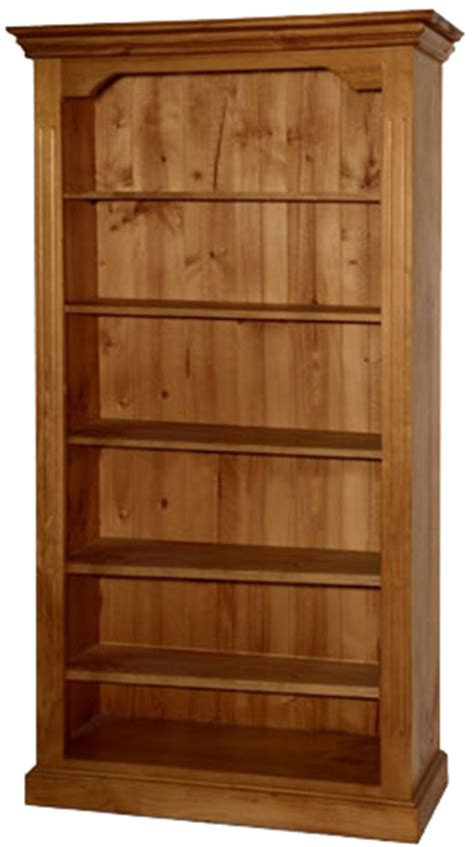 pine bookshelves federation solid pine bookcase