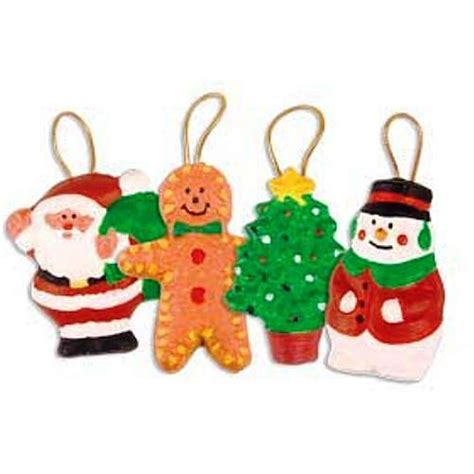 children s paint your own christmas tree decorations by