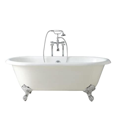 naiture cast iron clawfoot tub imperial in 2 length