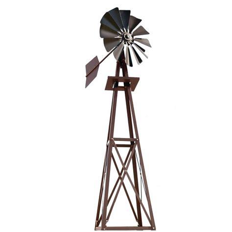 small bronze powder coated backyard windmill byw