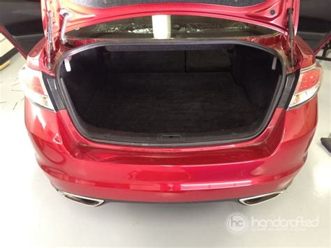 Handcrafted Car Audio - custom subwoofer enclosure for mazda 6 handcrafted car