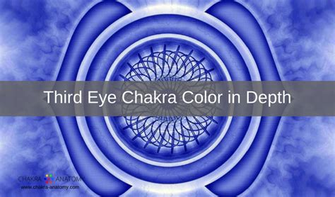 anatomy coloring book indigo third eye chakra color meanings