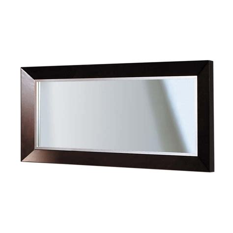 30 x 30 bathroom mirror shop decolav cityview suite 30 in h x 60 in w red mahogany