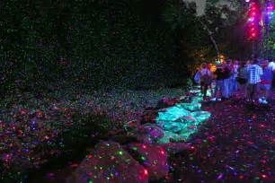 forest park lights foresta lumina multimedia magic in the coaticook gorge park