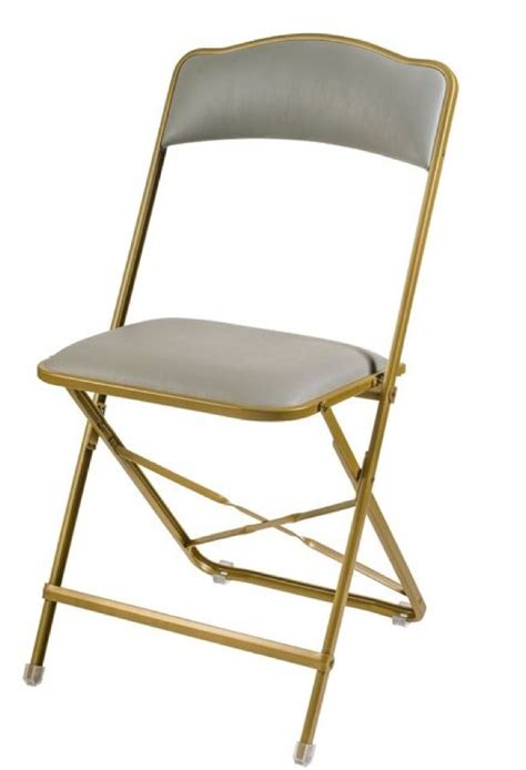 Banquet Style Chairs by Fritz Style Folding Chair With Gold Frame Folding Chairs