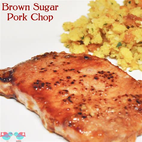 easy brown sugar pork chops the love nerds