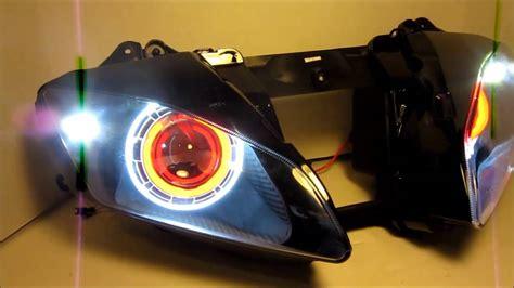 Lu Hid Motor Yamaha R15 2006 2013 yamaha r6 hid projector headlights bixenon dual
