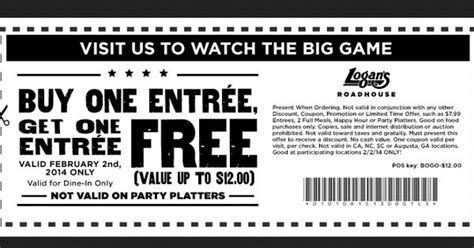 texas roadhouse printable coupons logans roadhouse printable coupon february 2014 bogo free