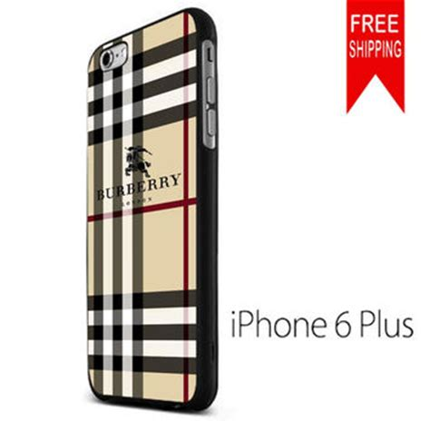 Casing Hp Iphone 7 Plus Burberry Pattern Custom Hardcase Cover shop burberry iphone 6 plus on wanelo