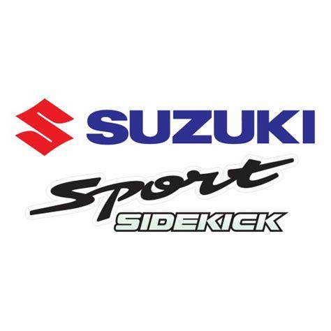 logo suzuki vector suzuki sidekick logo vector eps for free