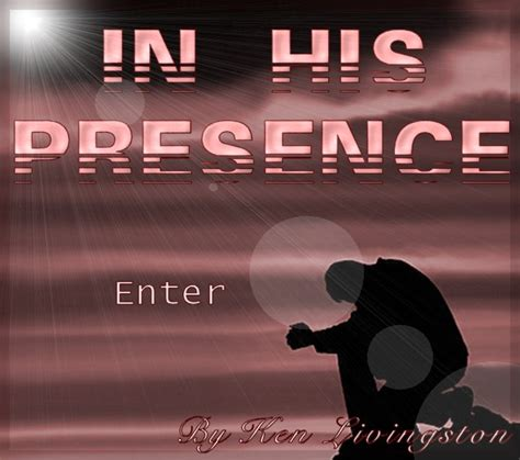 In His Presence adam2 org in his presence preface