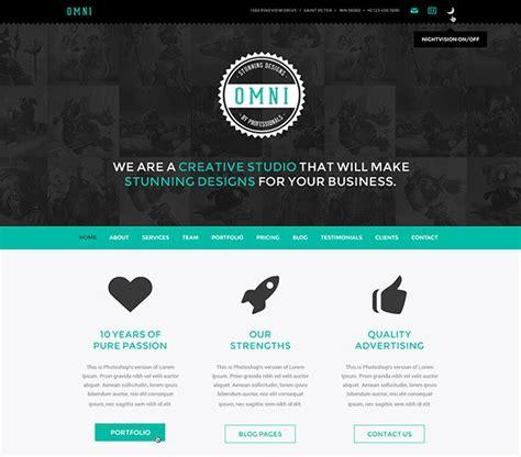 design portfolio header 60 modern portfolio html templates for creative