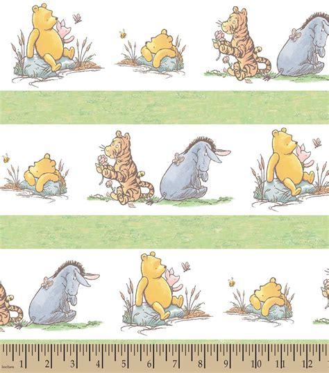 Disney Home Decor Ideas Disney 174 Classic Pooh Amp Friends Print Fabric Joann Jo Ann