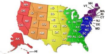 map of the united states with abbreviations u s map