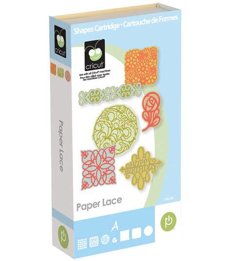 Paper Lace Craft - provo craft cricut shape cartridge paper lace jo