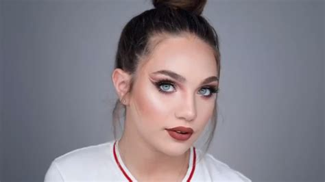 james charles makeup maddie ziegler today in cute beauty news james charles gave maddie