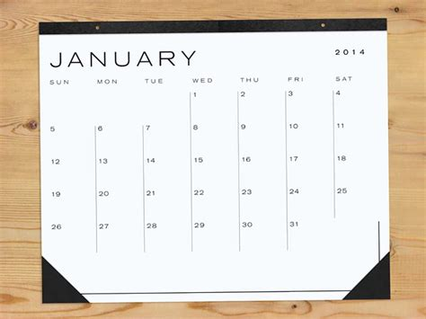 8 Great Wall Calendars by Our Guide To The Best 2014 Wall Calendars For Work