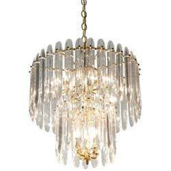 chandelier crystals chandelier with large crystals by sciolari at 1stdibs