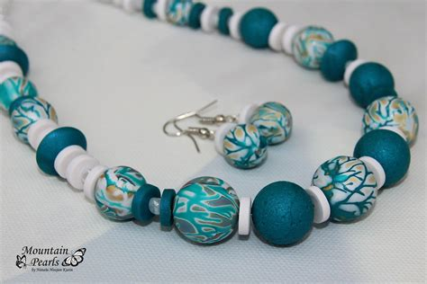 Handmade Clay Jewellery - handmade polymer clay jewelry sets 2