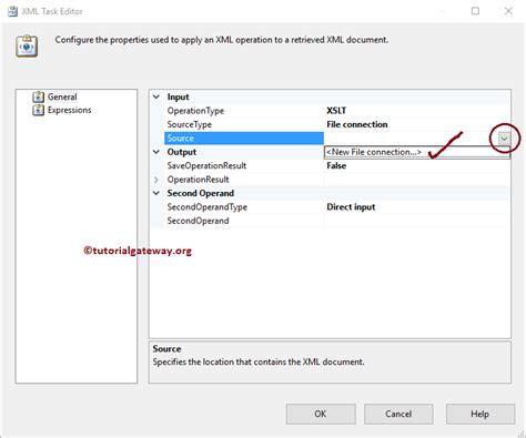 xml gateway tutorial ssis xml task to tranform xml file using xslt 6