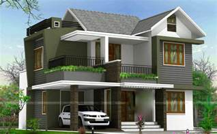 Double Floor House Elevation Photos by 1738 Square Feet 4 Bedroom Double Floor Sloping Roof Home