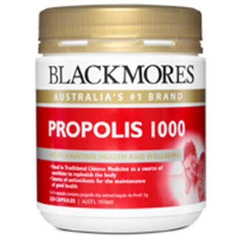 Blackmore Propolis Propolis 1000mg blackmores propolis 1000 capsules 220 health delivery