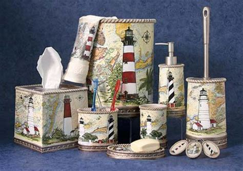 lighthouse bathroom sets harbour lights bath accessories oceanstyles com