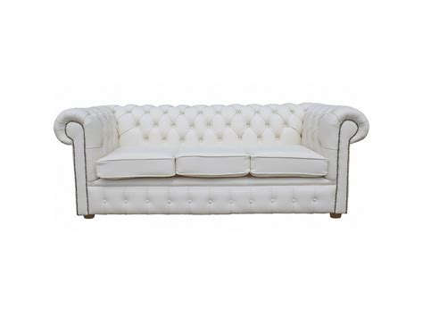 real chesterfield sofa chesterfield 3 seater sofa bed 100 real leather collection