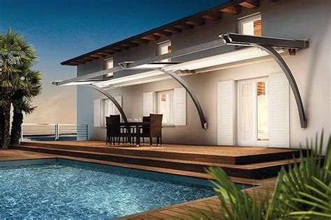 modern awnings for home innovative canopy and pergola with retractable roof