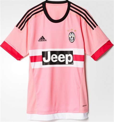 Jersey Juventus Away 2015 2016 Sleep pink adidas juventus 15 16 away kit released footy headlines