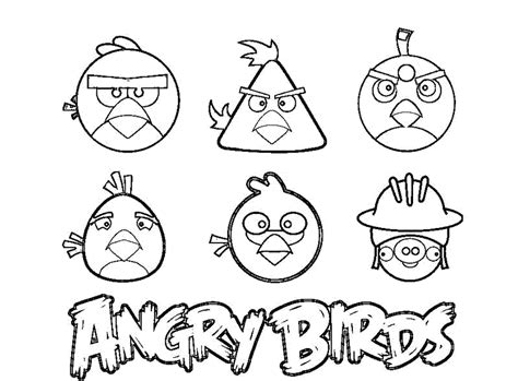 angry birds coloring pages for your small kids