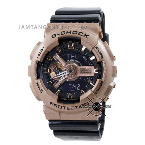 G Shock Ga 110 Gold Black Bm harga sarap jam tangan g shock ga 110gd 9b2 gold
